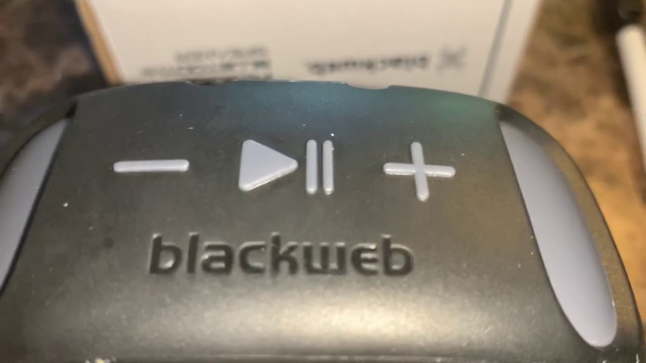 HOW TO TURN ON BLACKWEB RUGGED BLUETOOTH SPEAKER | POWER BUTTON