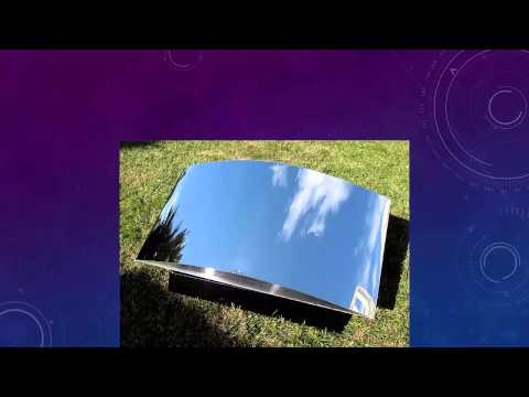 Garden mirror invention youtube for Miroir invention