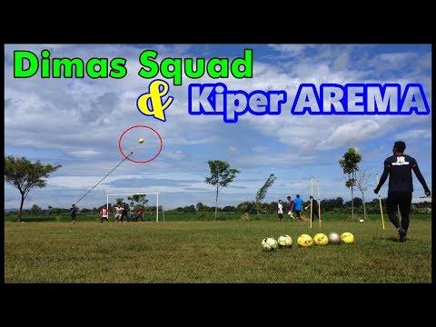 Dimas Squad dan Kiper Arema (Hajar Pamuji)