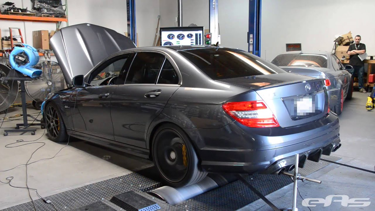 2008 mercedes benz c63 amg dyno youtube. Black Bedroom Furniture Sets. Home Design Ideas