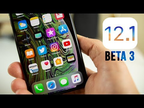 iOS 12.1 Beta 3 Released - What's New?