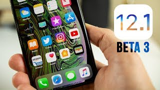 iOS 12.1 Beta 3 Released - What
