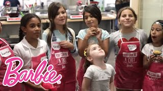 Cooking and Baking with Barbie at Sur La Table | Cooking and Baking | Barbie