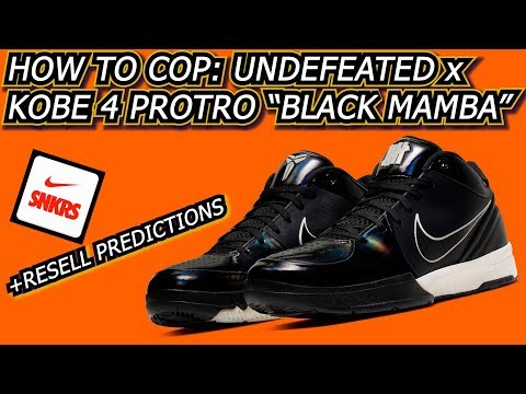 """undefeated-x-kobe-4-protro-""""black-mamba""""-