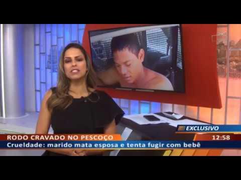 DFA - Crueldade: marido mata esposa e tenta fugir com bebê