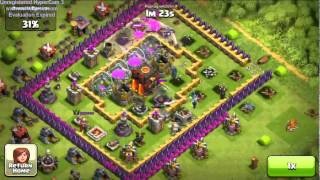 One of The Biggest Raids Ever in Clash of Clans,1,147,000 Resources