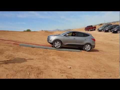 2013 Hyundai Tucson AWD Fail It just can t get a grip.