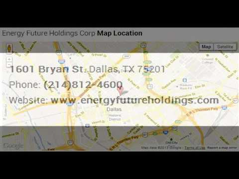 Energy Future Holdings Corp Corporate Office Contact Information