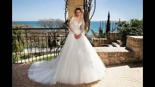 Свадебные платья с рукавами 2018