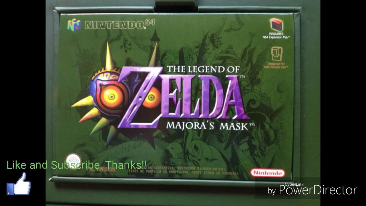 Download The Legend Of Zelda Majora's Mask N64 ROM