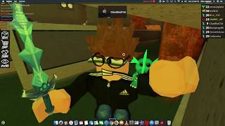 ROBLOX Assasin!-Blizzard knife rewiew-The Bro's