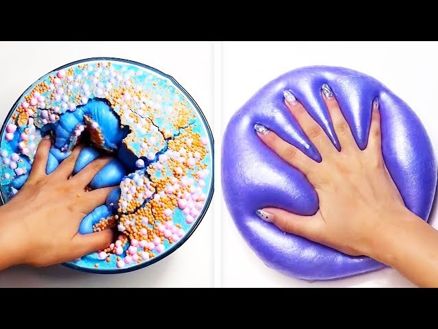 The Most Satisfying Slime ASMR Videos | Relaxing Oddly Satisfying Slime 2019 | 216