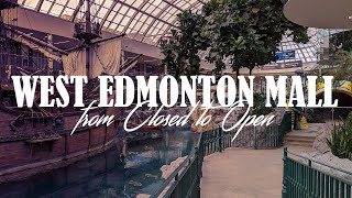 West Edmonton Mall: March 2020 vs. May 2020... It'...