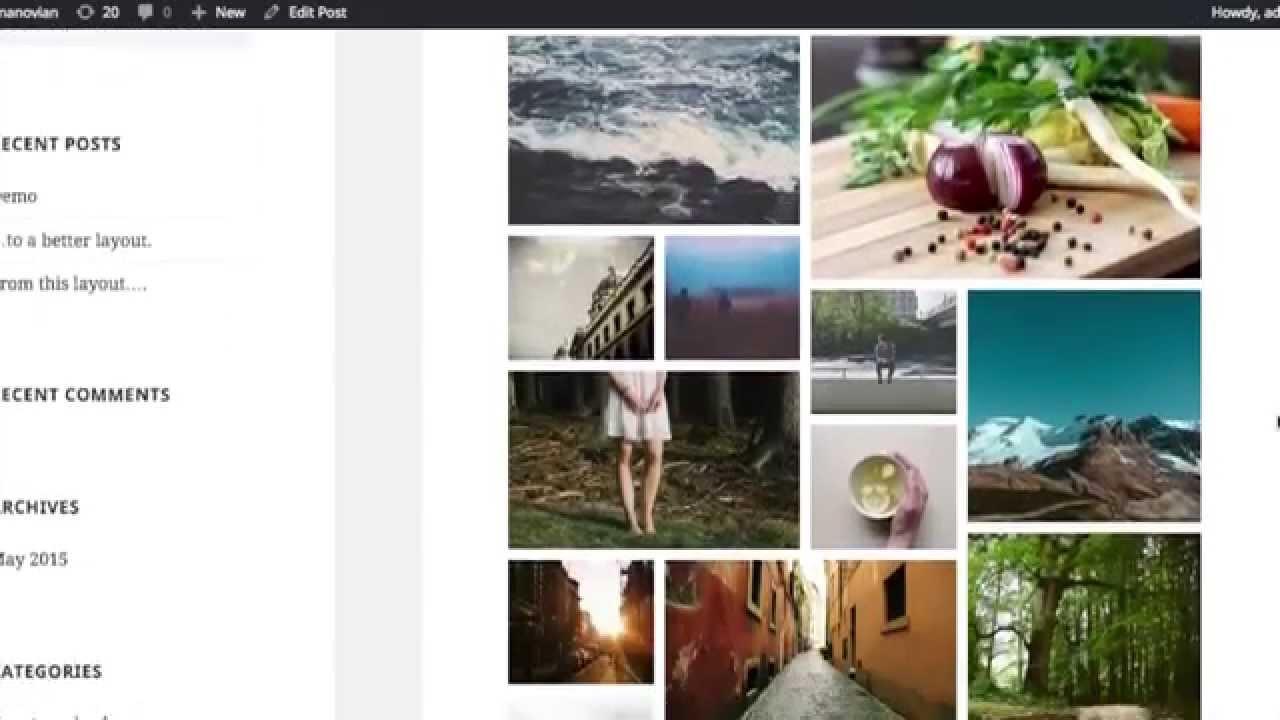 Wordpress Tiled Gallery Plugin Tile Design Ideas