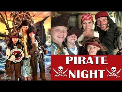 PIRATE NIGHT on Disney Dream Cruise