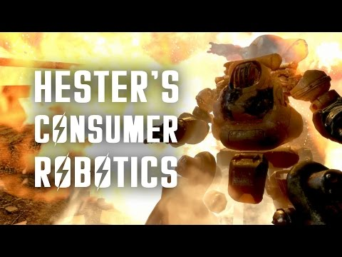 The Full Story of Professor Goodfeels & Hester's Consumer Robotics - Fallout 4 Lore