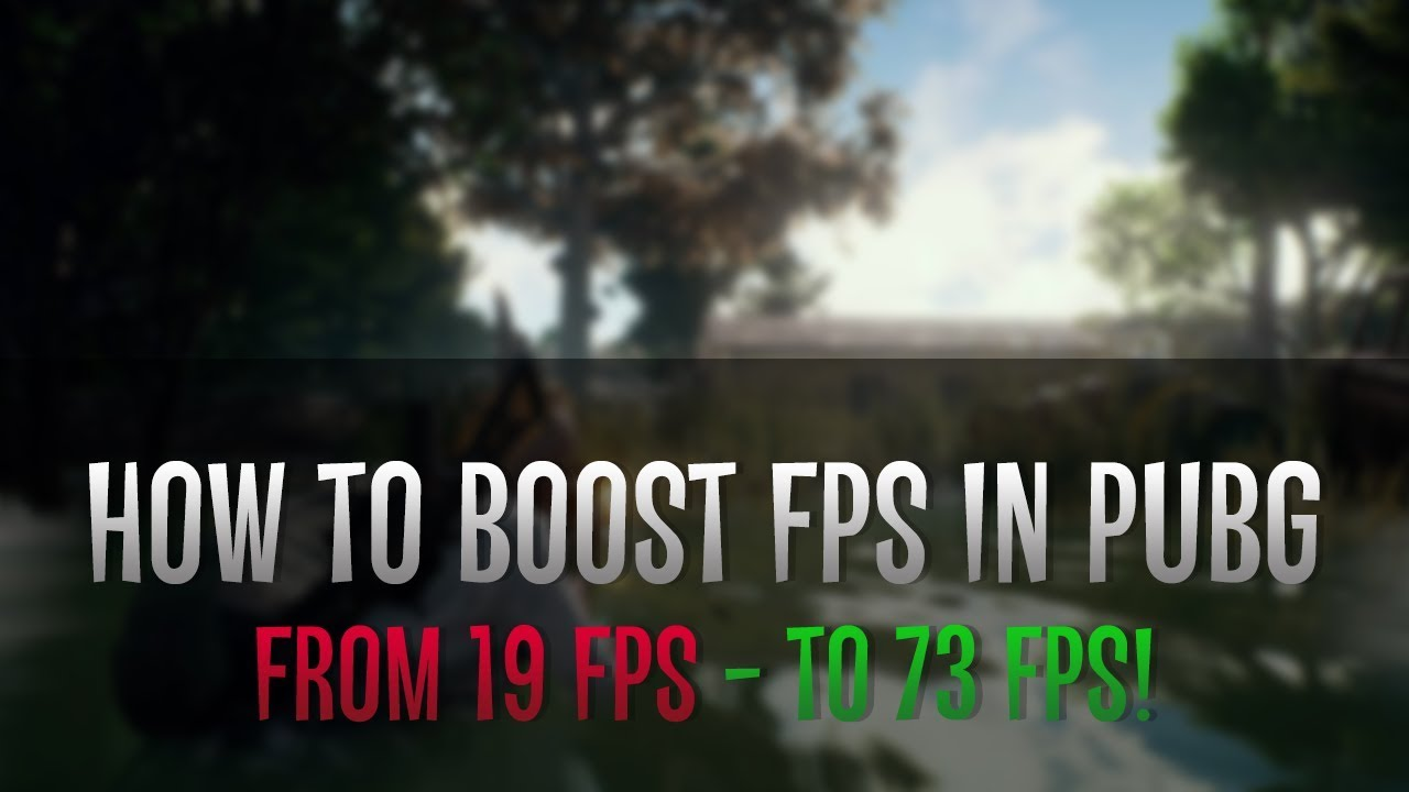 Increase Fps In Pubg Mobile And Fix The Lag: How To Increase FPS In PUBG?