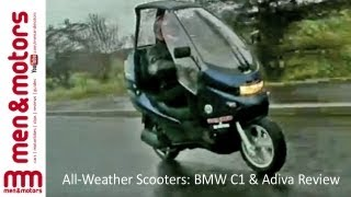 All-Weather Scooters: BMW C1 & Adiva Review