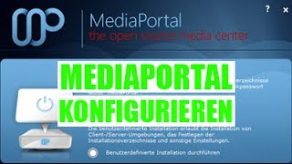 MediaPortal konfigurieren German / Deutsch