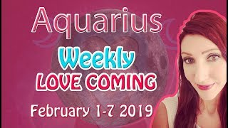 Aquarius X they ended a relationship to be with you FEBRUARY 1ST-7TH 2019 WEEKLY TAROT LOVE READINGS