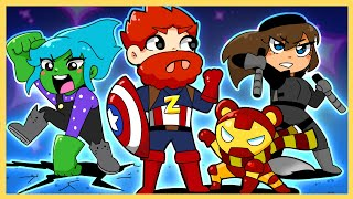 THE BOOTLEG AVENGERS!! | Minecraft Hide n Seek!