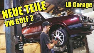 Neuer Innenraum für den VW Golf 2 | Roadtrip Videoblog