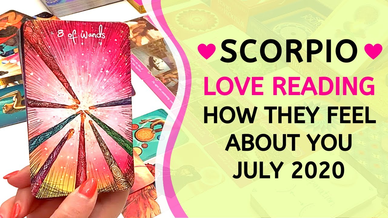"""SCORPIO ❤️ """"We need to talk."""" ~ How They Feel About You Love Reading July 2020"""
