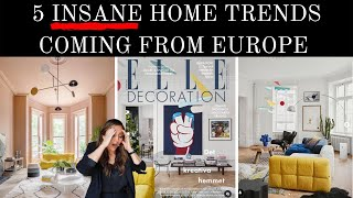 5 INSANE EUROPEAN HOME TRENDS | WILL THIS BE THE NEXT BIG THING IN THE US??