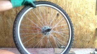 Восстановление старого велосипеда. Часть 1. Разборка.(Купил старый немного замученный велосипед. Разбираю, чищу, рихтую, покупаю запчасти. Но не крашу :) STRAVA:..., 2016-07-01T09:23:46.000Z)
