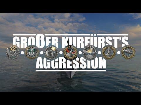 World Of Warships - Großer Kurfürst's Aggression