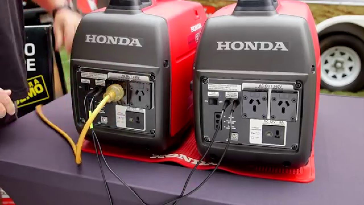 honda generator parallel wiring diagram [ 1280 x 720 Pixel ]