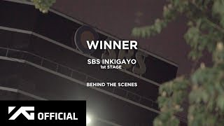 WINNER -  'WE' SBS INKIGAYO BEHIND THE SCENES
