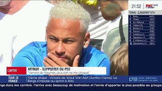 """Arthur, supporter du PSG : """"Le divorce est consommé entre le PSG et Neymar !"""""""