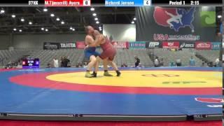 C Division 97KG - M.T(merrill) Ayers vs. Richard Jensen