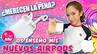 🎵 ¡¡Os ENSEÑO mis NUEVOS AIRPODS de APPLE!! 😱 ¿MERECEN LA PENA?
