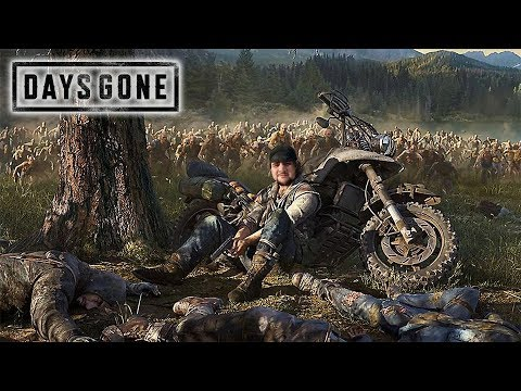 [18+] Шон играет в Days Gone (PS4 Pro, 2019)