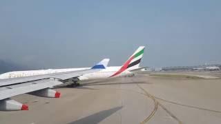 (※本片會非常無聊的) ◆引擎聲版◆ - 飛機升降飛行實錄 - 由香港到台北的桃園機埸