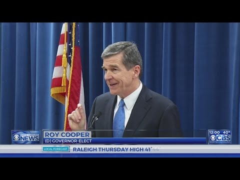 Roy Cooper: Bills limiting NC governor's powers 'unprecedented'