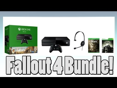 Fallout 4 Xbox One Bundle with Fallout 3 and 1TB HD