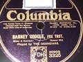 Barney Google Played by the Georgians Columbia 3325