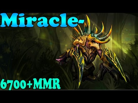 Dota 2 - Miracle- 6768 MMR Plays Nyx Assassin Vol 2# - Ranked Match Gameplay!