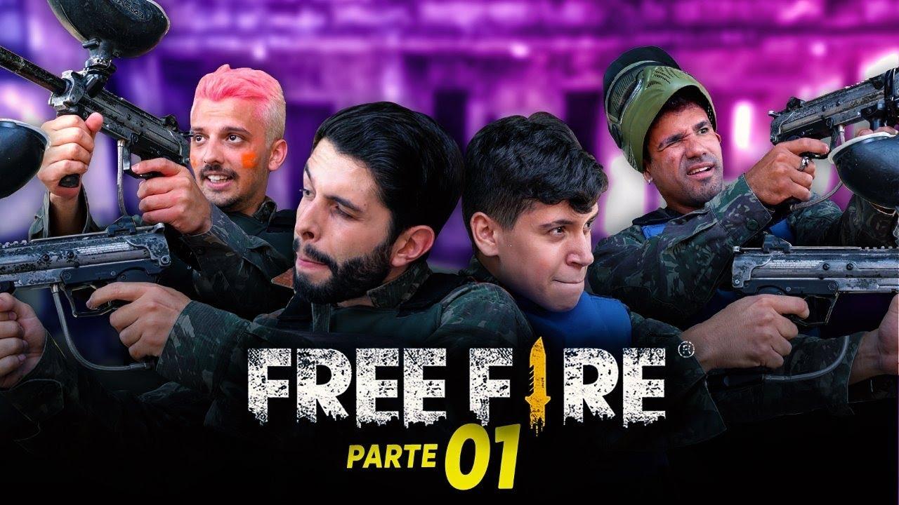 FREE FIRE DA VIDA REAL PT.1