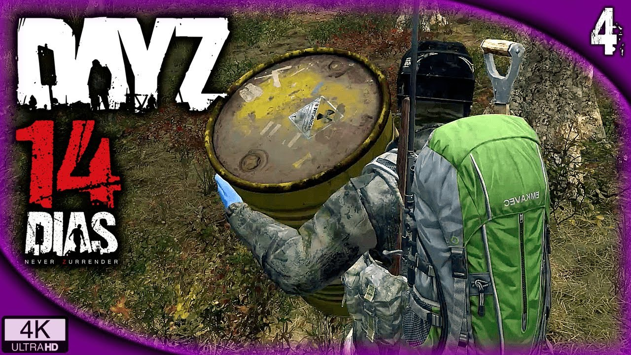 DayZ - 14 Días #4 | OBJETIVO ESCONDITE | DayZ Gameplay Español