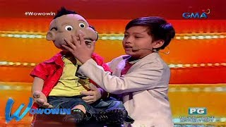 Wowowin: Young ventriloquist, bigay todo sa monthly finals!
