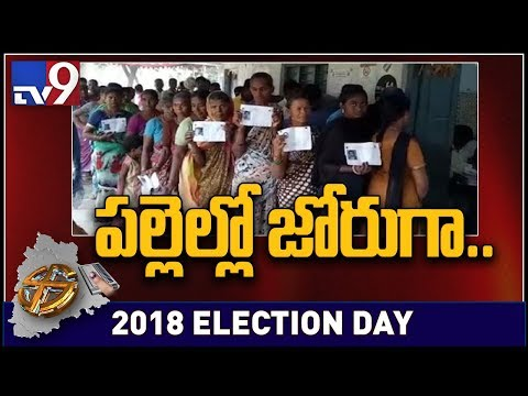 Telangana Elections 2018 : Highest polling in Warangal, Lowest in Hyderabad - TV9