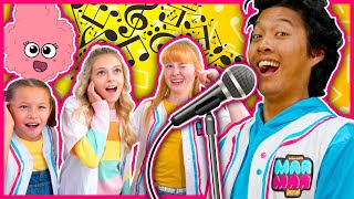 Coco Quinn Teaches MarMar HOW TO SING! Music Lessons for Kids!