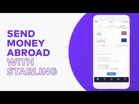 How to send money abroad | Steps by Starling