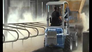 Quappen Q 27 shovel kniklader loader  zaagselstrooier 2011.wmv