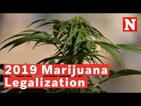 U.S. States That Could Legalize Marijuana In 2019