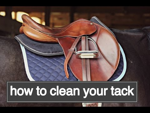 How To Clean Your Tack!